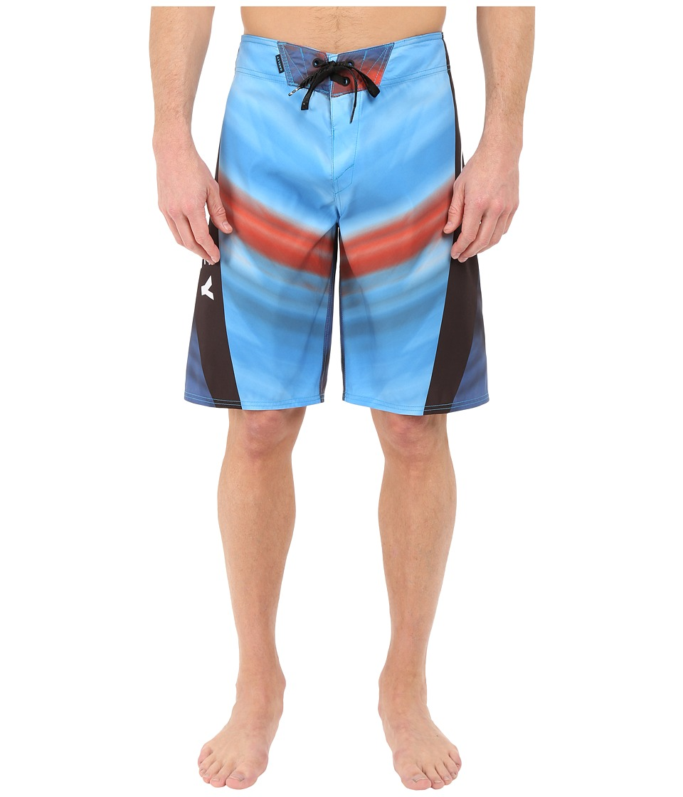 Oakley - Gnar Shock Boardshorts (Pacific Blue) Men's Swimwear