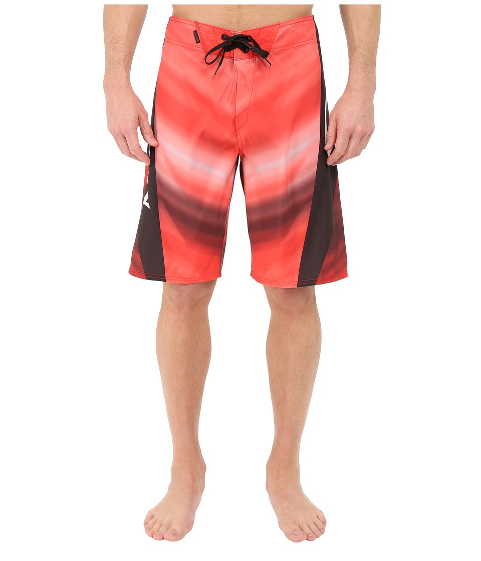 Oakley - Gnar Shock Boardshorts (Red Line) Men's Swimwear