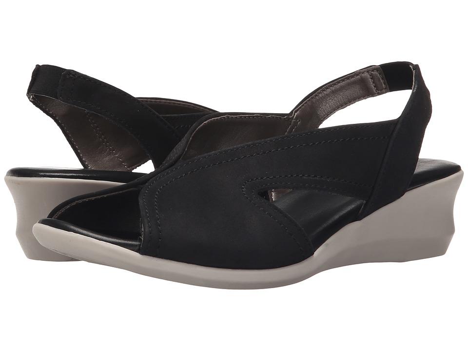 The FLEXX - Charlee (Black Nubuck) Women's Shoes