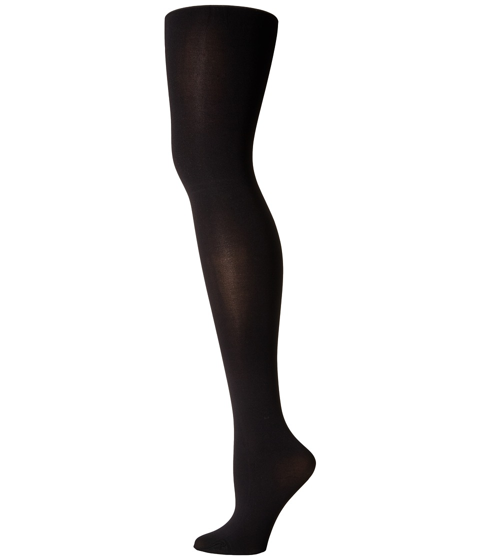 Alice + Olivia - 40D Opaque Tights (Black) Hose