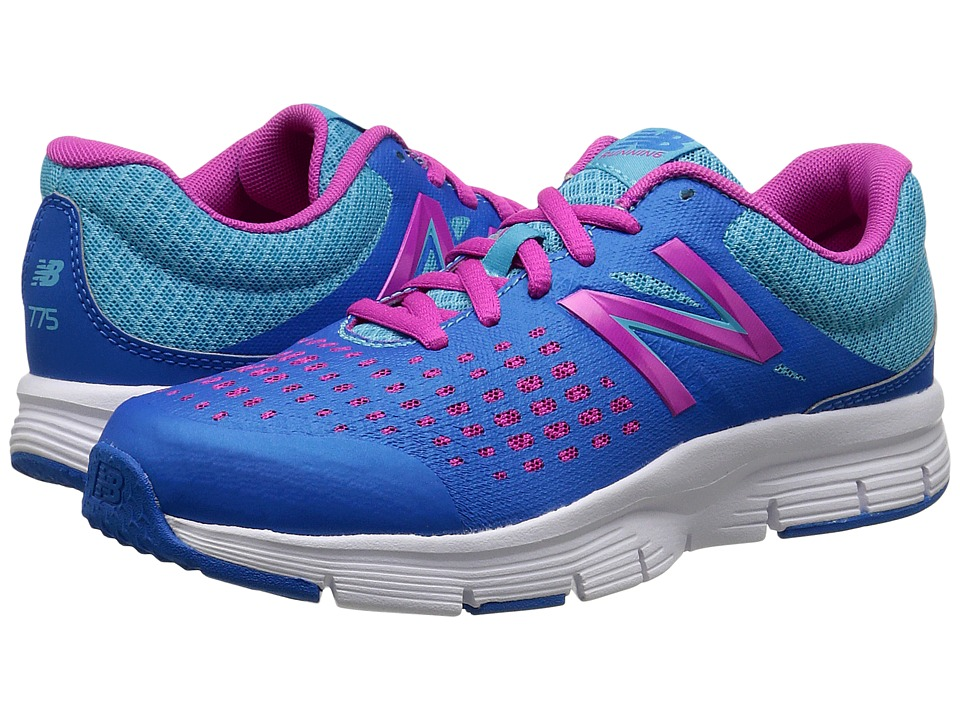 New Balance Kids - 775v1 (Little Kid/Big Kid) (Blue/Pink) Girls Shoes