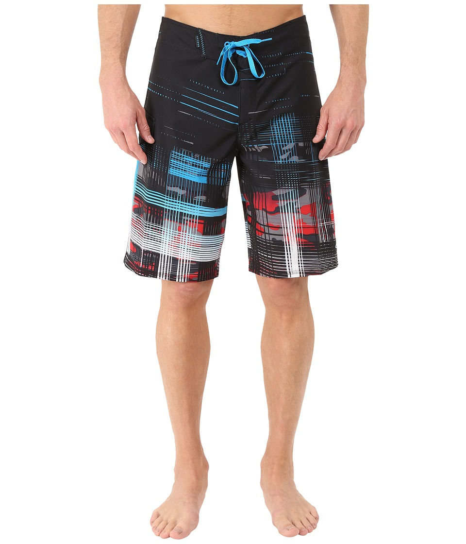 Oakley - Gridlock Boardshorts (Jet Black) Men's Swimwear