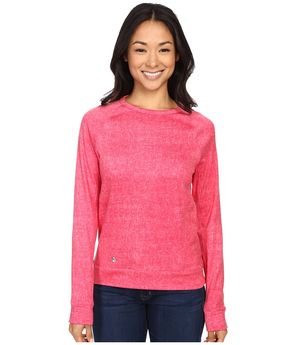 Spyder - Blayze Top (Punch Washed Print) Women's Long Sleeve Pullover
