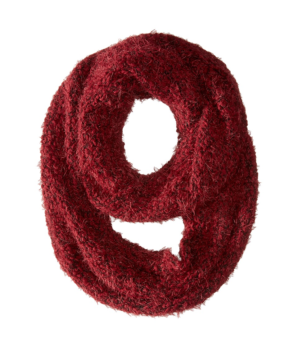 Calvin Klein - Boucle Infinity Scarf (Port) Scarves
