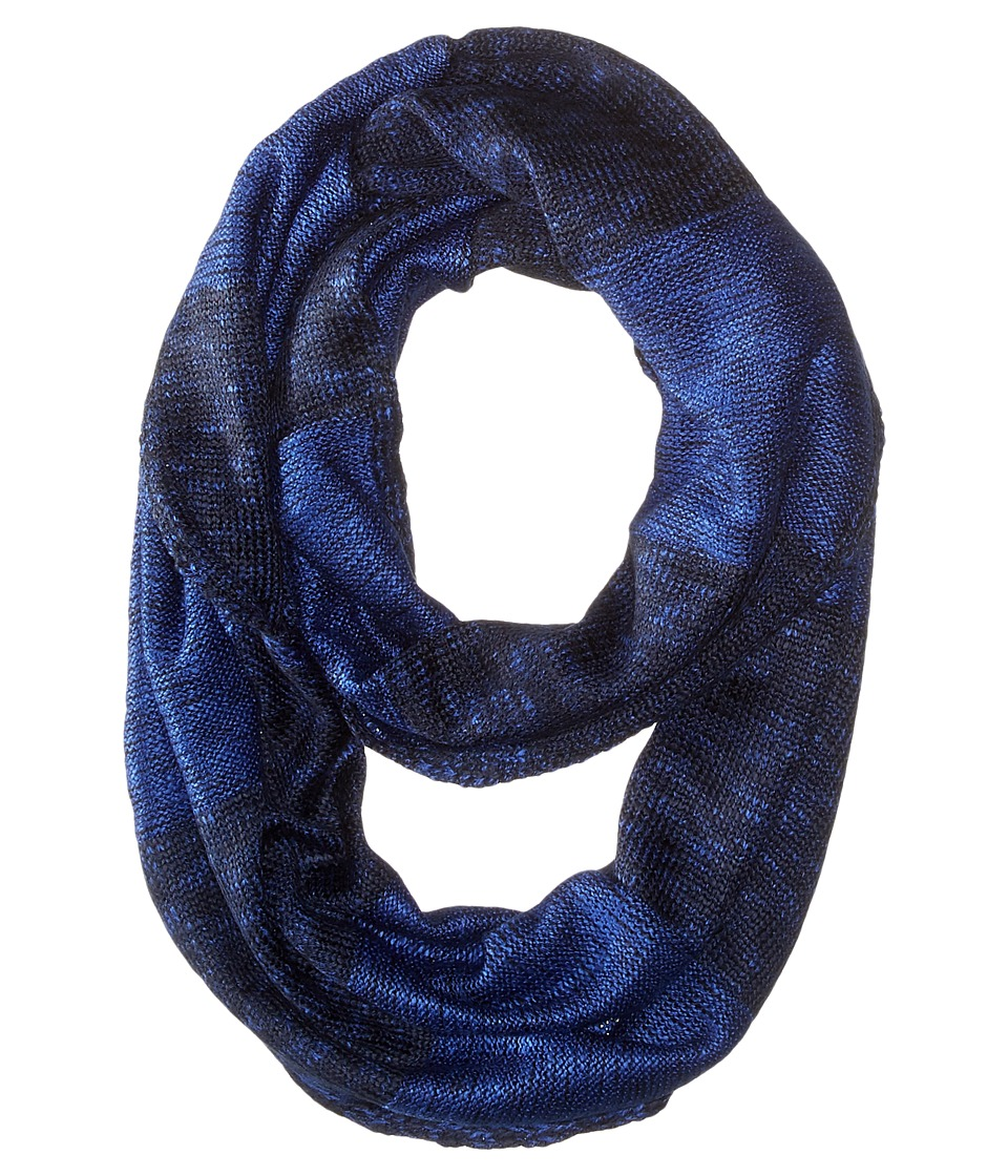 Calvin Klein - Plaited Stripe Infinity Scarf (Night) Scarves