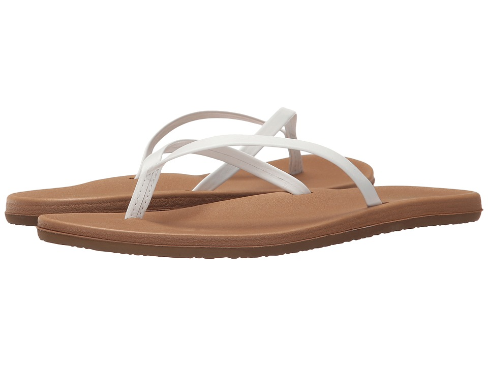 Freewaters - Nikki (White/Tan) Women's Shoes