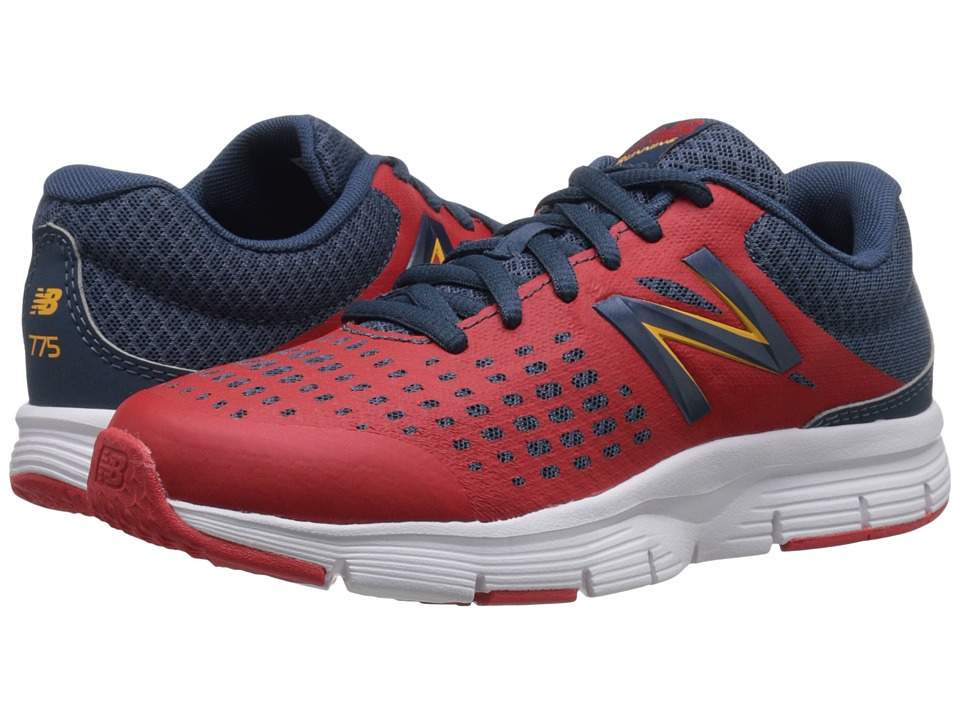 New Balance Kids - 775v1 (Little Kid/Big Kid) (Red/Grey) Boys Shoes