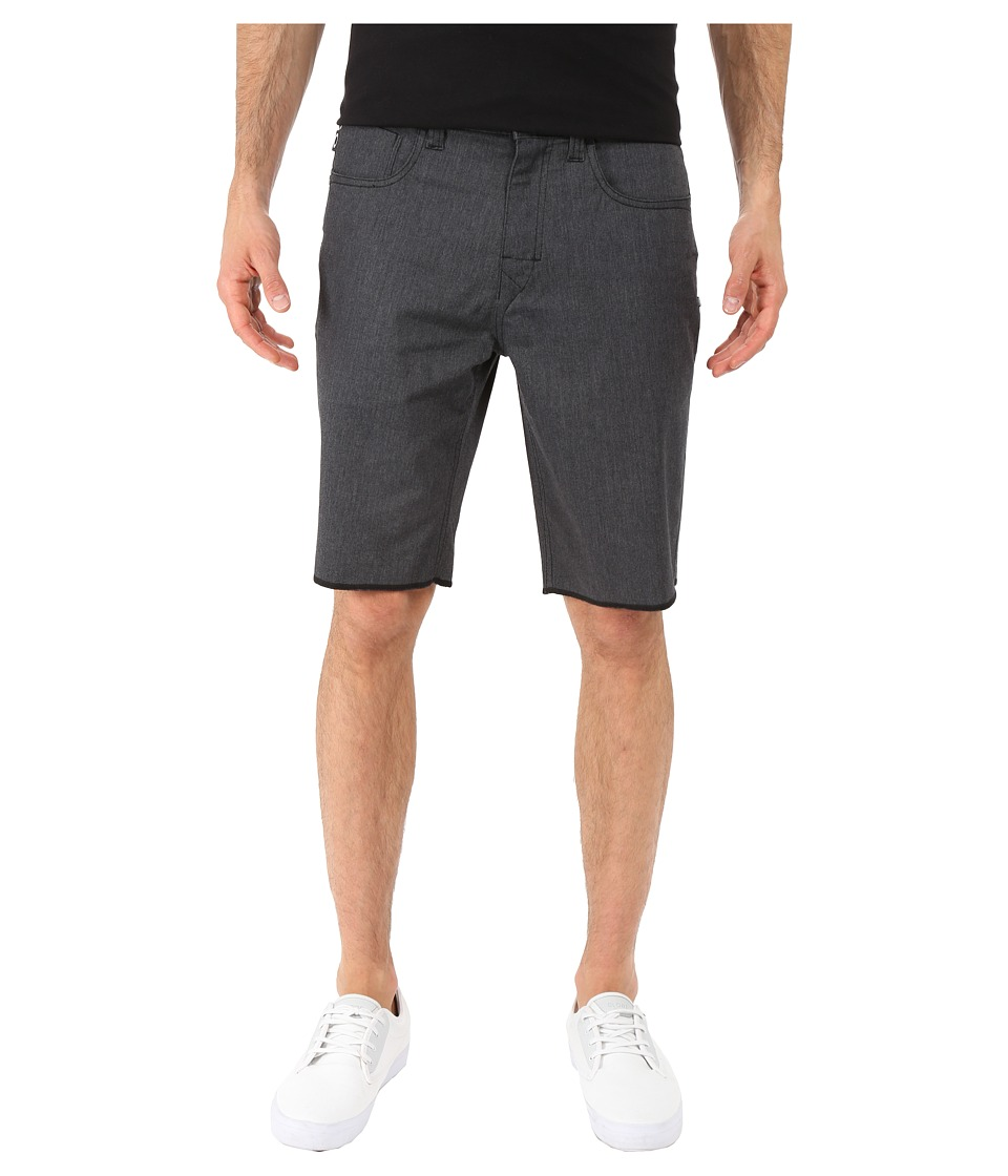 Oakley - 50's Melange Shorts (Jet Black Heather) Men's Shorts