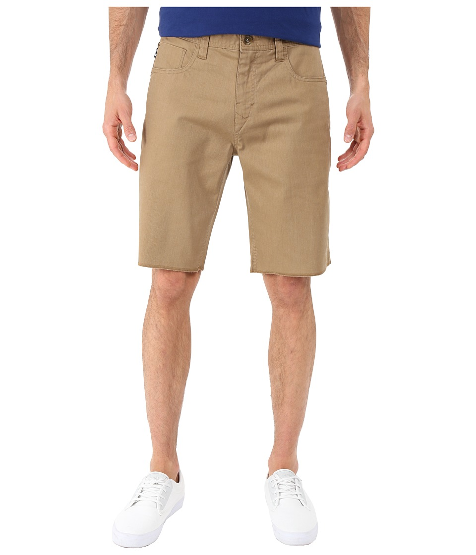 Oakley - 50's Melange Shorts (New Khaki Dark Heather) Men's Shorts