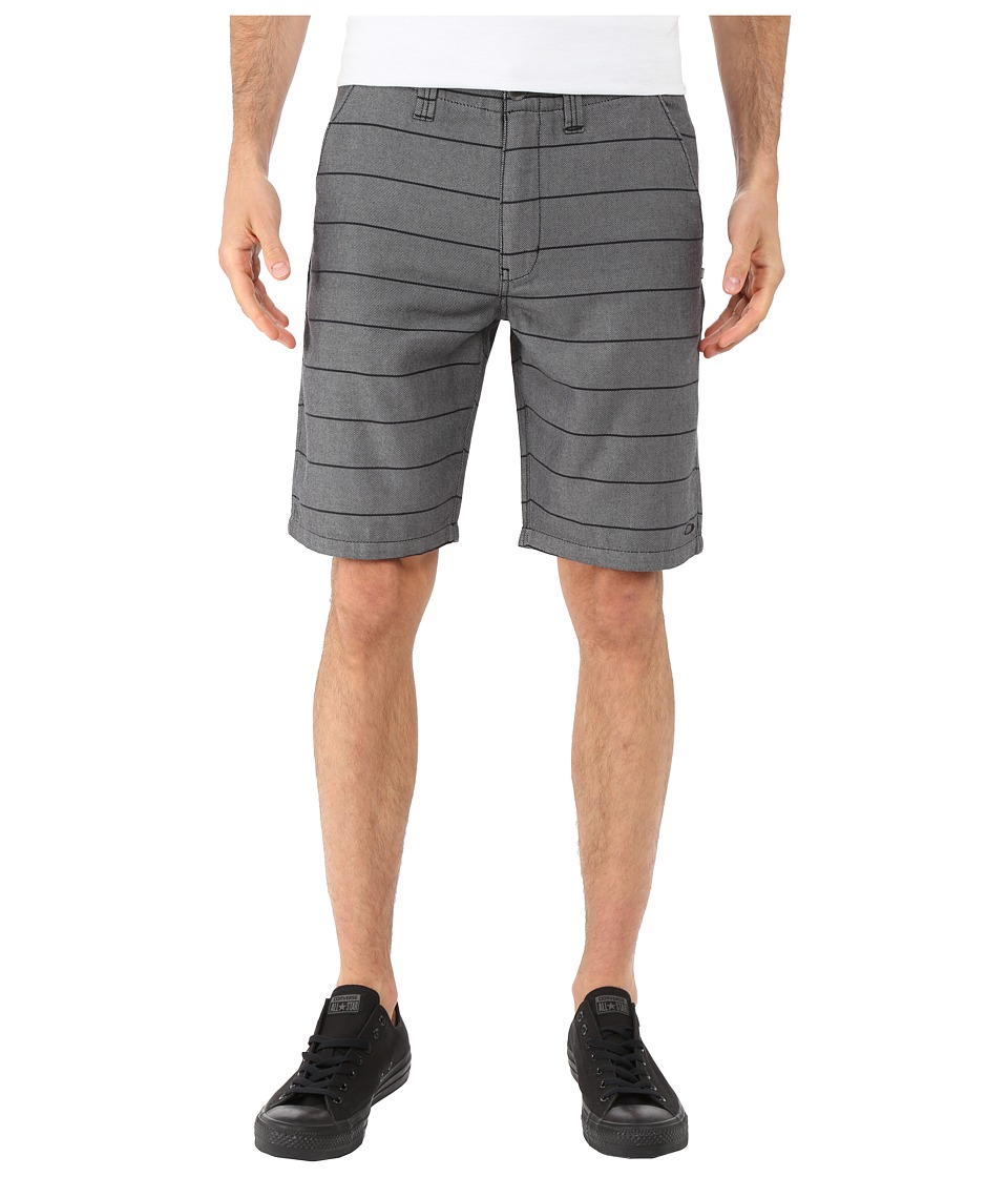 Oakley - Plaid Shorts (Jet Black) Men's Shorts