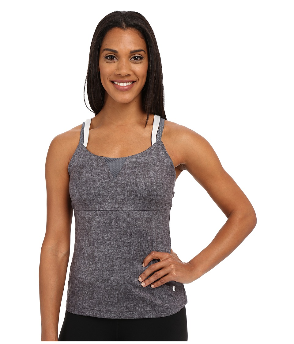Spyder Lasyr Tank Top (Image Grey Washed Print/Cirrus/Punch) Women