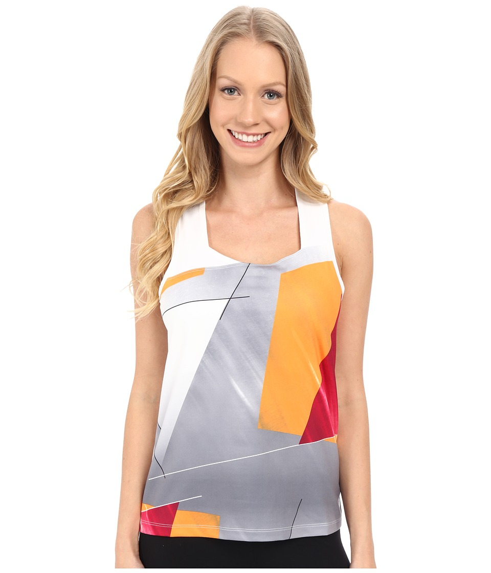 Spyder - Even Tank Top (Multi Color Shield Print) Women's Sleeveless