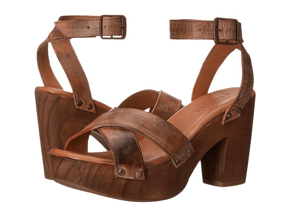 Bed Stu - Kalah (Tan Rustic White) High Heels
