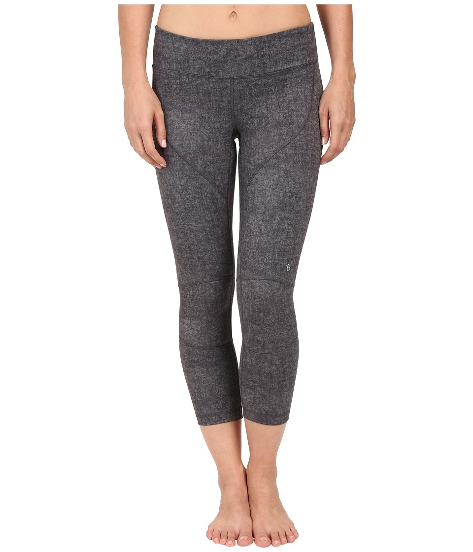 Spyder - Chance Crop Pants (Image Grey Washed Print) Women's Workout