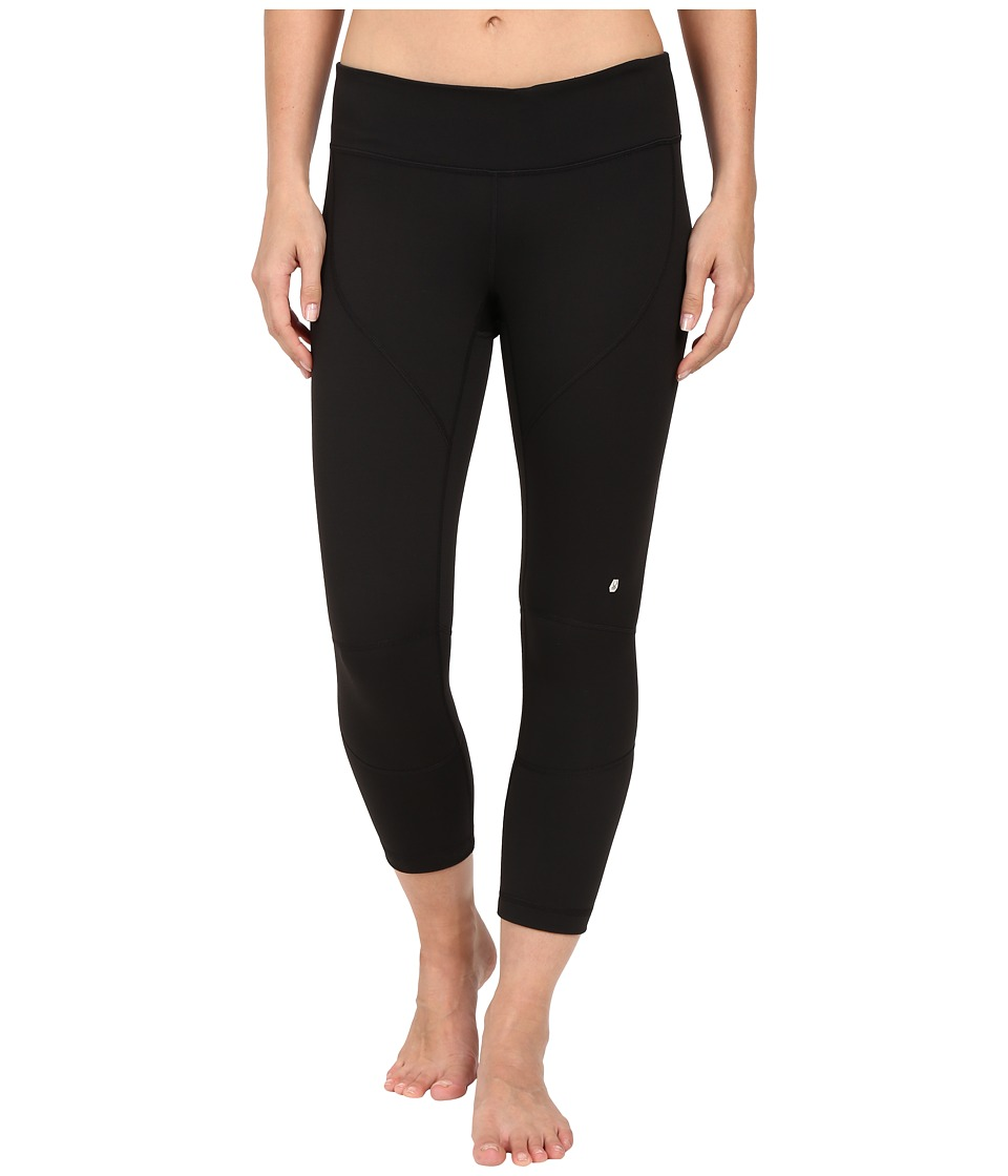 Spyder - Chance Crop Pants (Black) Women's Workout