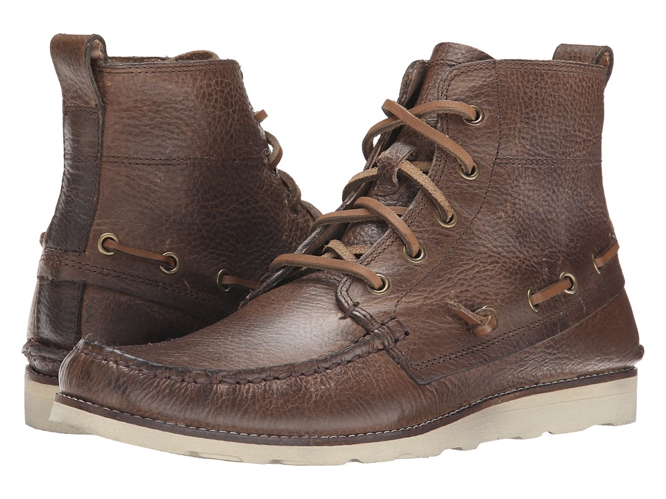 John Varvatos Ligger Boat Boot (Brownstone) Men
