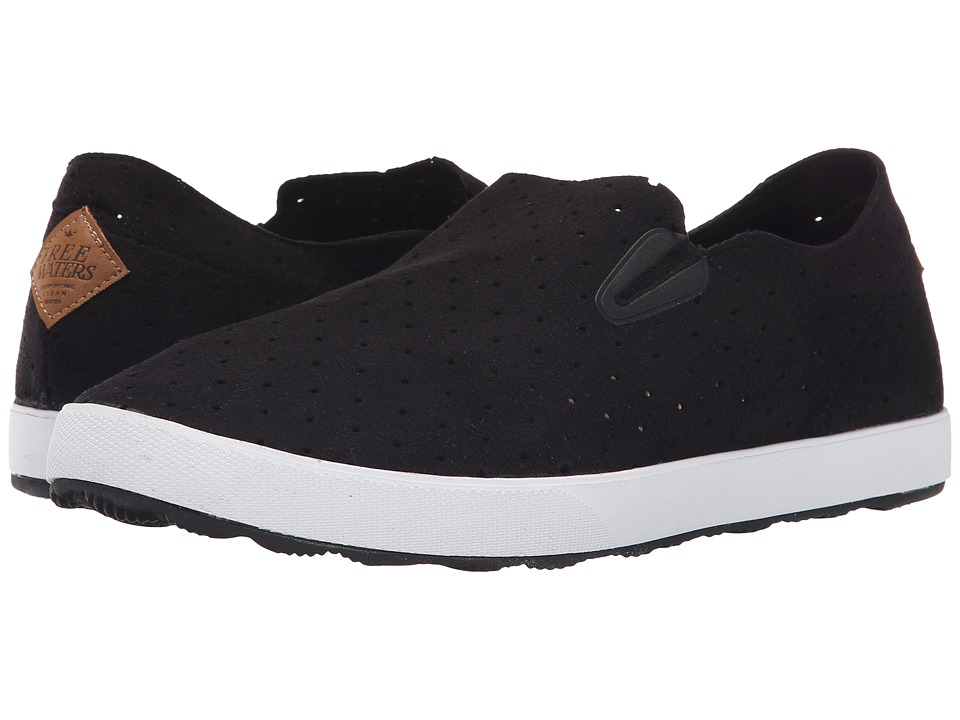 Freewaters - Sky Slip-On (Black) Men's Shoes