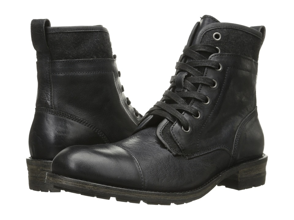 John Varvatos Lincoln Tahoe Boot (Black) Men