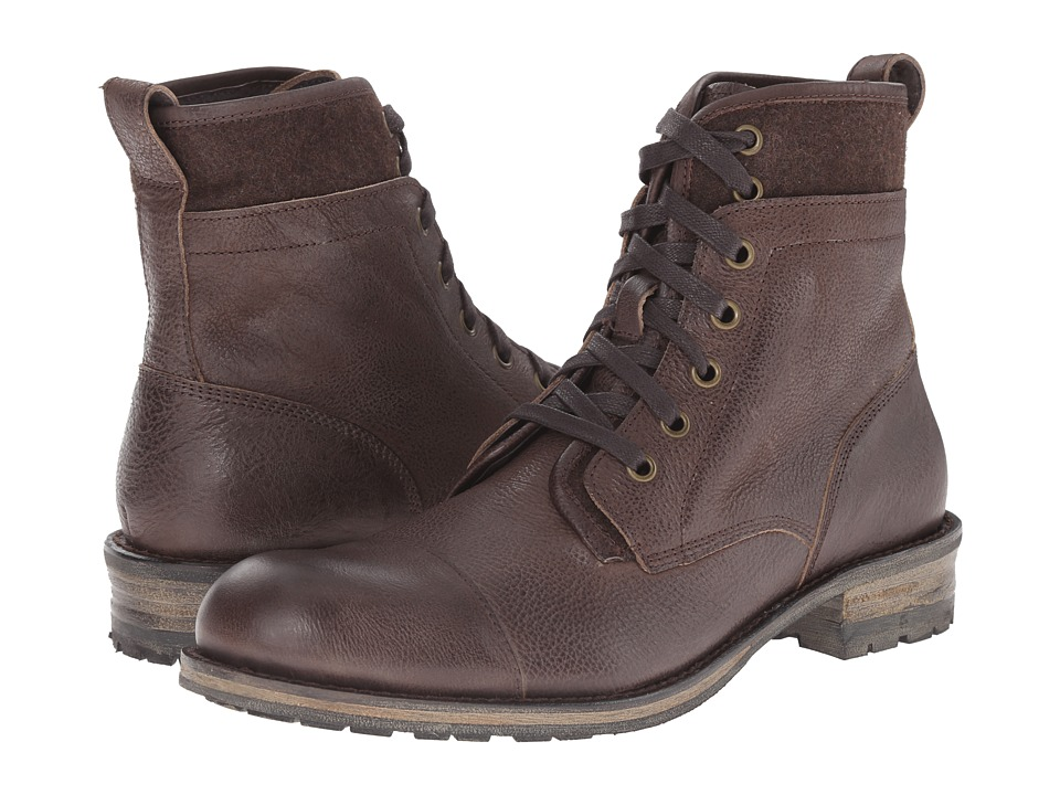 John Varvatos Lincoln Tahoe Boot (Dark Brown) Men