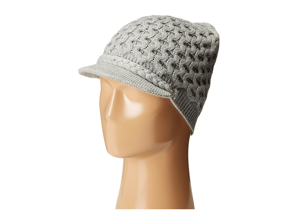 885ae14b UPC 788627898964 product image for Calvin Klein - Honeycomb Cable Beanie  (Heathered Mid Gray) ...
