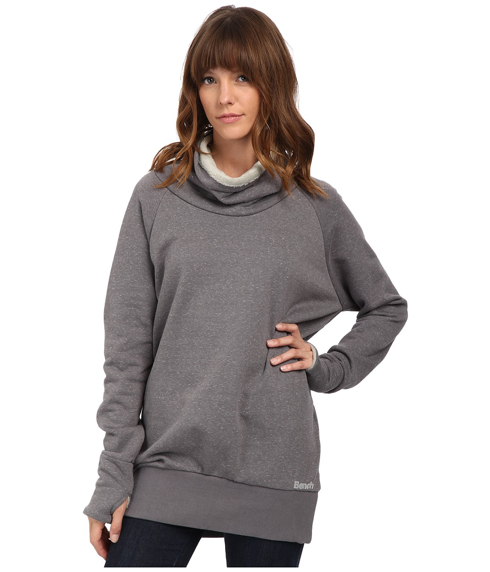 Bench - Motif Pullover Sweater (Smoked Pearl Marl) Women's Sweater