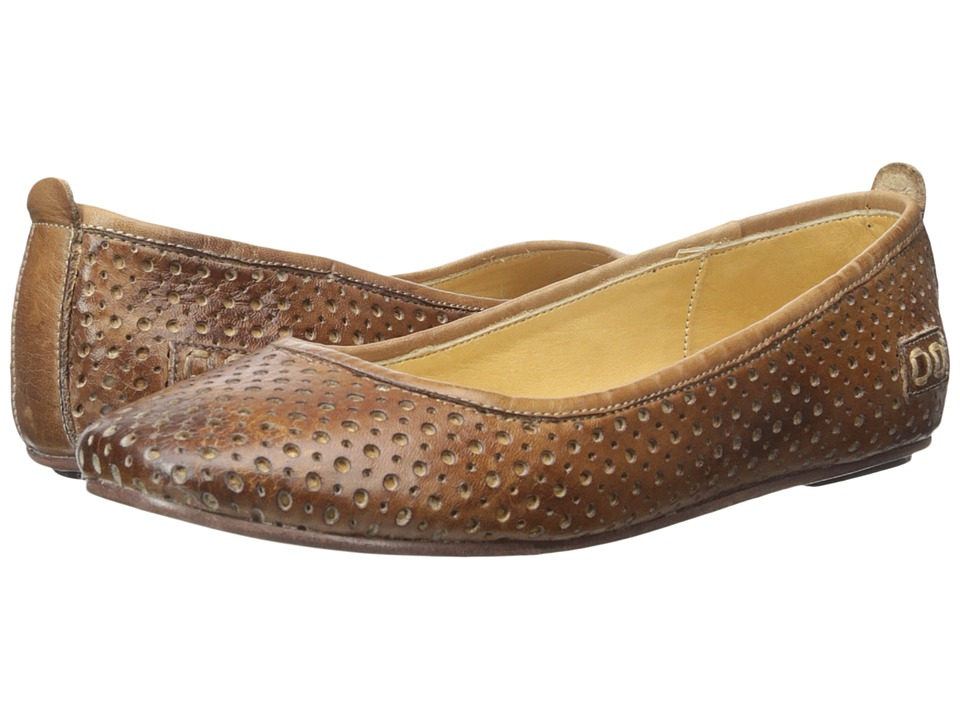 Bed Stu - Watsu (Tan Rustic Gamuza Tan) Women's Flat Shoes