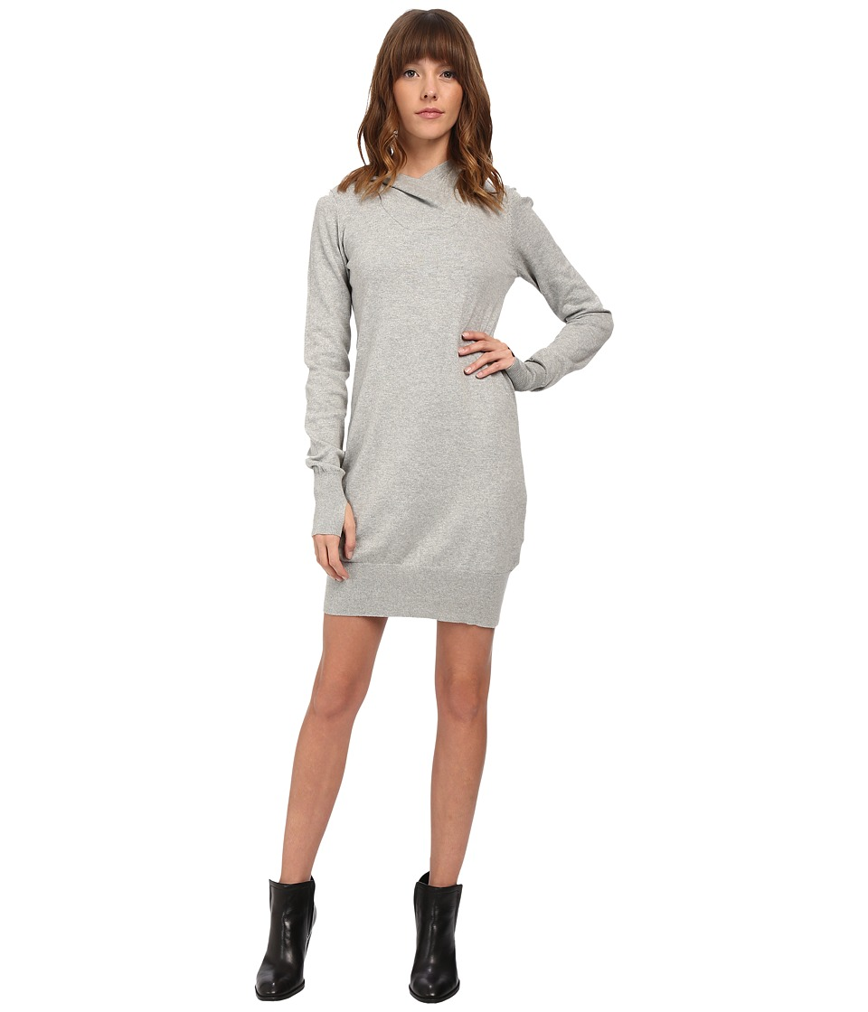 Bench - Up And Coming Dress (Grey Marl) Women