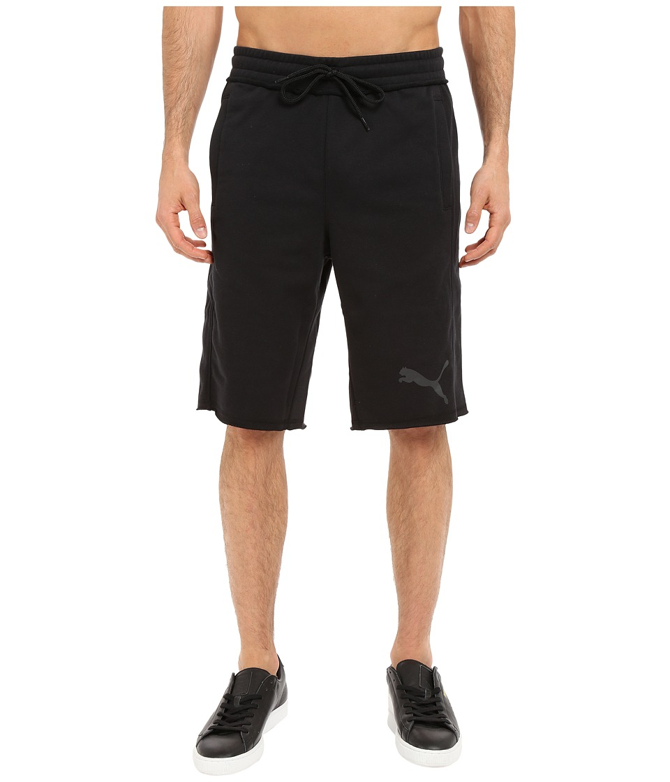 PUMA - 12 Sweat Bermuda (Black) Men's Shorts