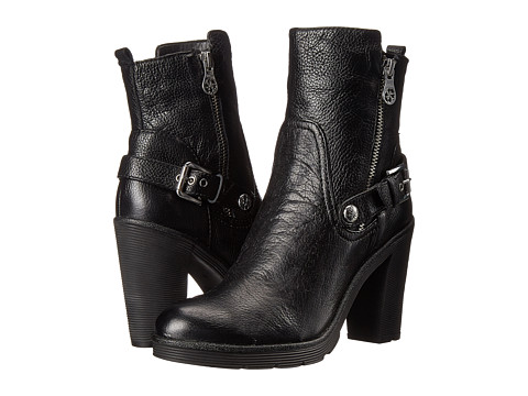 GUESS - Frankie (Black Leather) Women