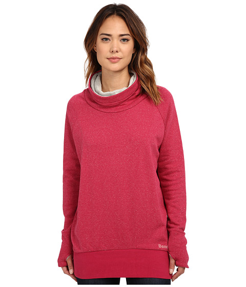 Bench - Motif Pullover Sweater (Red Bud Marl) Women