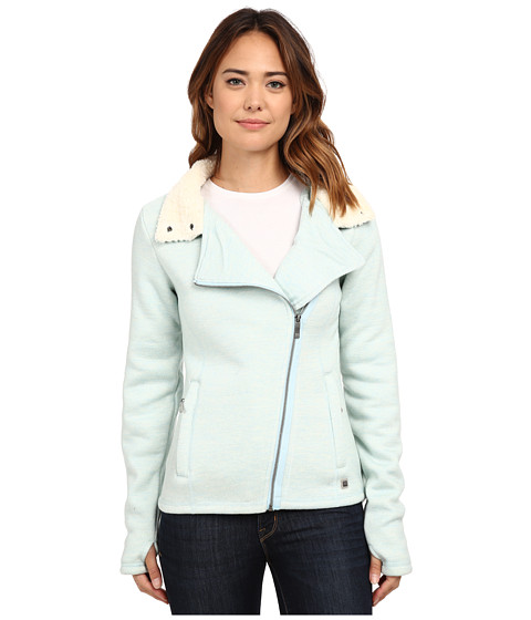 Bench - Raiseout Funnel Neck Knitwear (CR042 Crystal Blue) Women's Sweatshirt
