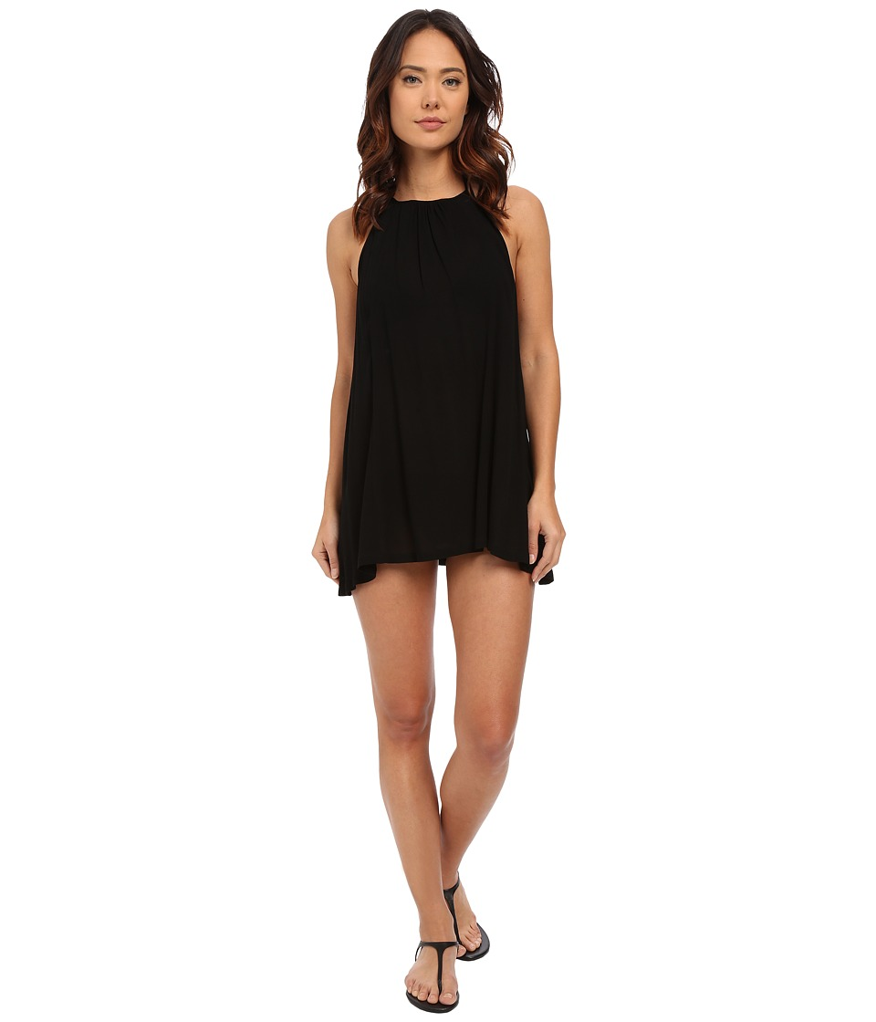 L*Space - Solarium Tunic Cover-Up (Black) Women's Swimwear