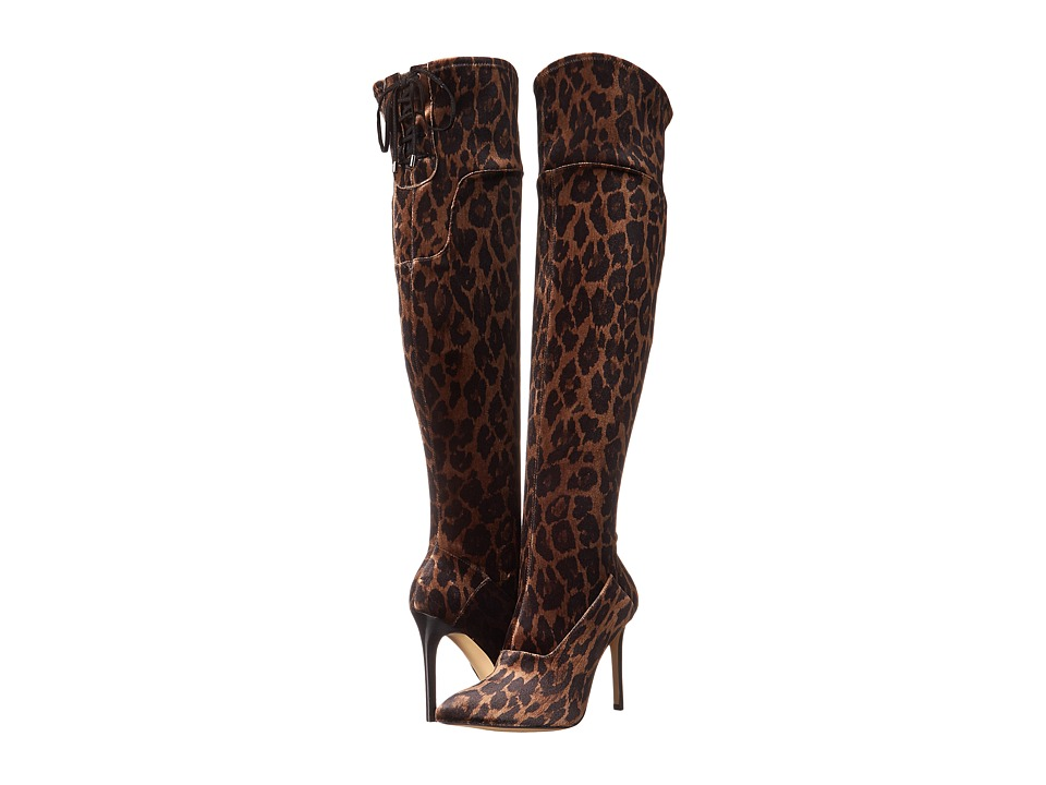 GUESS - Valerine (Leopard Fabric) Women