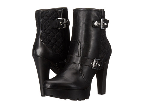 GUESS - Clary (Black Leather) Women's Dress Boots