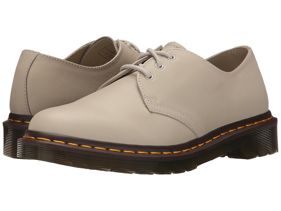 Dr. Martens - 1461 3-Eyelet Shoe (Ivory Virginia) Women's Lace up casual Shoes