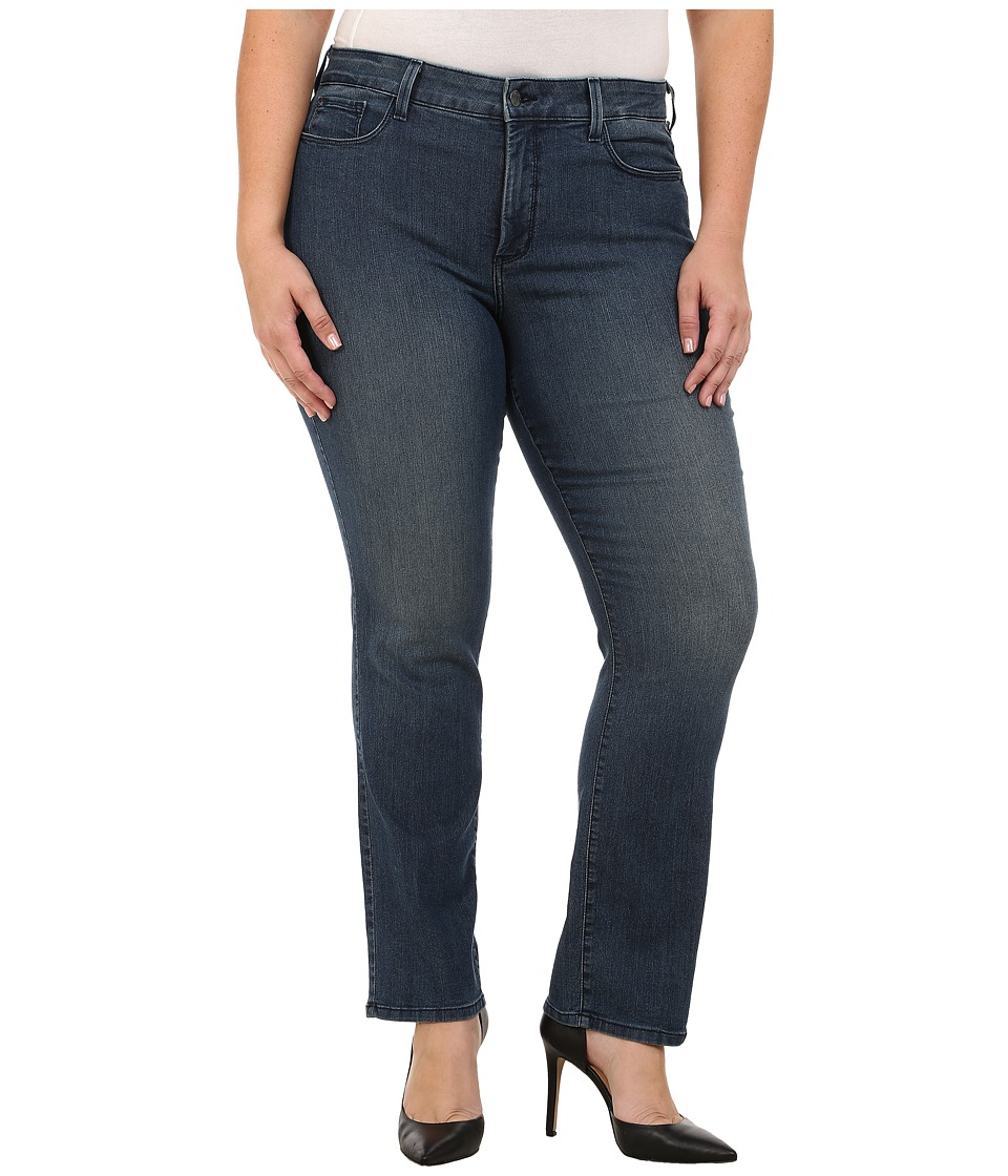 NYDJ Plus Size - Plus Size Marilyn Straight in Frankford (Frankford) Women's Jeans