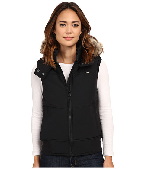 Bench - Push Broom B Gilet Jacket (Jet Black) Women