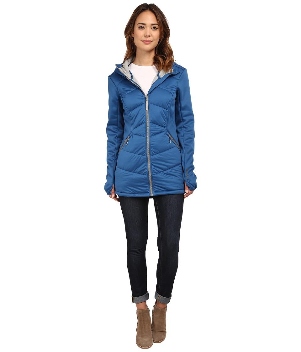 Bench - Copy And Paste Jacket (Dark Blue) Women's Coat