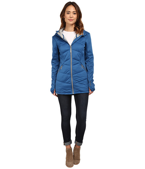 Bench - Copy And Paste Jacket (Dark Blue) Women's Coat