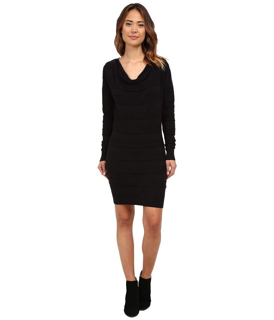 Bench - Declareround Dress (Jet Black) Women's Dress