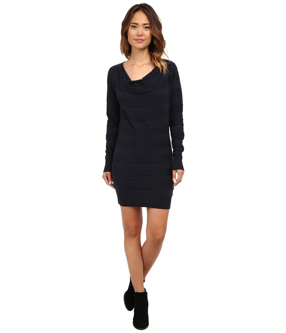 Bench - Declareround Dress (Total Eclipse Marl) Women's Dress