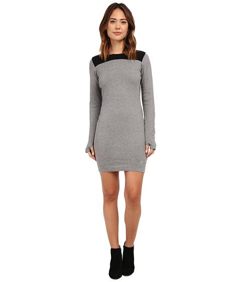 Bench - Straightlace Dress (Stormcloud Marl) Women's Dress