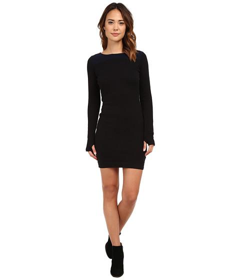 Bench - Straightlace Dress (Jet Black) Women's Dress