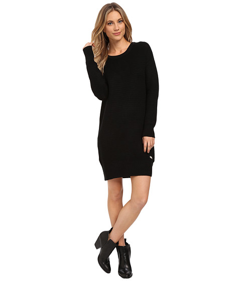 Bench - Cozeeness 11 Dress (Jet Black) Women