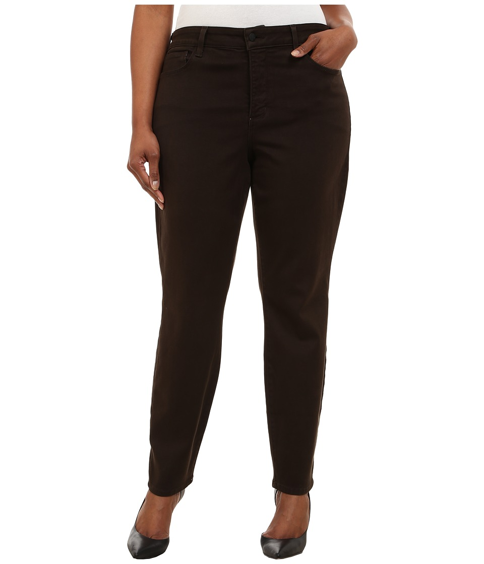 NYDJ Plus Size - Plus Size Alina Leggings (Molasses) Women's Casual Pants