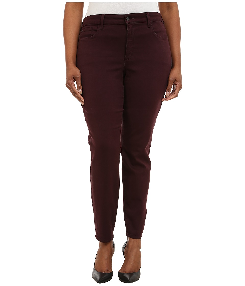 NYDJ Plus Size - Plus Size Alina Leggings (Brandywine) Women's Casual Pants plus size,  plus size fashion plus size appare
