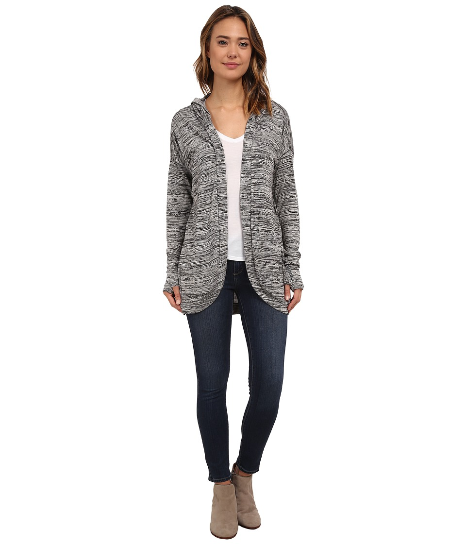 Image of Bench - Aqueduct Cardigan (Dark Shadow Marl) Women's Sweater