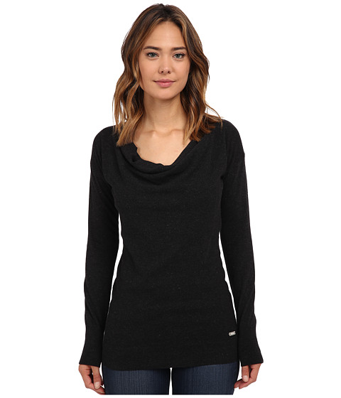 Bench - Ahead Jumper (Jet Black Marl) Women's Sweater