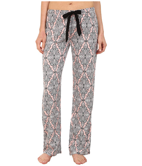 P.J. Salvage - Blk N Blush Sleep Pants (Blush) Women's Pajama