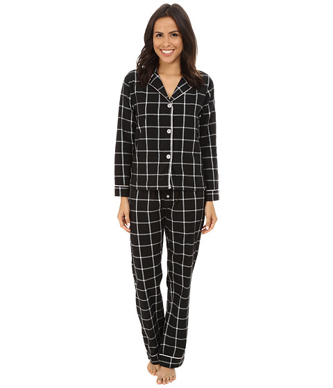 P.J. Salvage - Blk N Blush Sleep Set (Black) Women's Pajama Sets